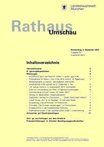 Rathaus Umschau 231 / 2014