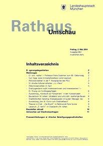 Rathaus Umschau 82 / 2014