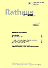 Rathaus Umschau 83 / 2014
