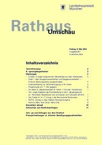 Rathaus Umschau 87 / 2014