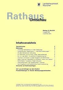 Rathaus Umschau 88 / 2014