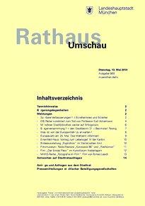 Rathaus Umschau 89 / 2014
