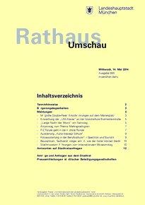 Rathaus Umschau 90 / 2014