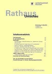 Rathaus Umschau 91 / 2014