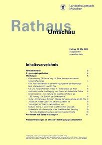 Rathaus Umschau 92 / 2014