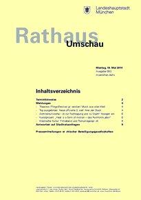 Rathaus Umschau 93 / 2014