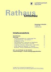 Rathaus Umschau 96 / 2014
