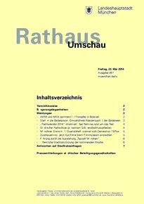 Rathaus Umschau 97 / 2014