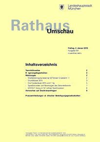 Rathaus Umschau 1 / 2015