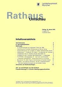 Rathaus Umschau 10 / 2015