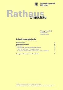 Rathaus Umschau 100 / 2015