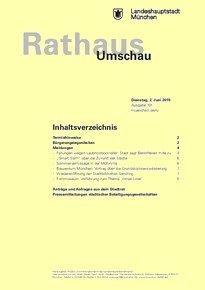 Rathaus Umschau 101 / 2015