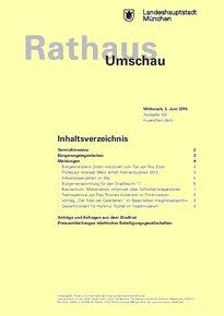 Rathaus Umschau 102 / 2015