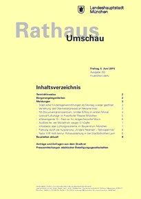 Rathaus Umschau 103 / 2015
