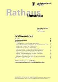 Rathaus Umschau 105 / 2015