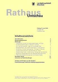 Rathaus Umschau 108 / 2015
