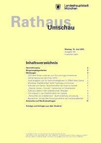 Rathaus Umschau 109 / 2015