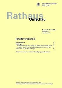 Rathaus Umschau 11 / 2015