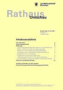 Rathaus Umschau 112 / 2015