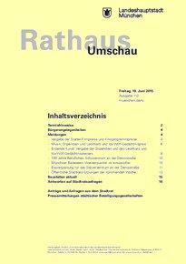 Rathaus Umschau 113 / 2015