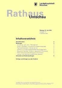 Rathaus Umschau 114 / 2015