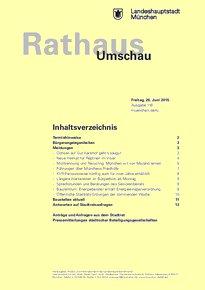 Rathaus Umschau 118 / 2015