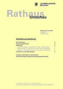 Rathaus Umschau 119 / 2015