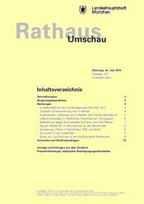 Rathaus Umschau 120 / 2015