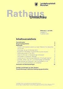 Rathaus Umschau 121 / 2015