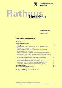 Rathaus Umschau 123 / 2015