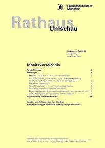 Rathaus Umschau 124 / 2015