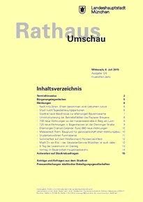 Rathaus Umschau 126 / 2015