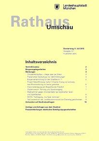 Rathaus Umschau 127 / 2015