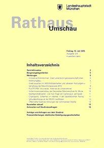 Rathaus Umschau 128 / 2015