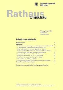 Rathaus Umschau 129 / 2015