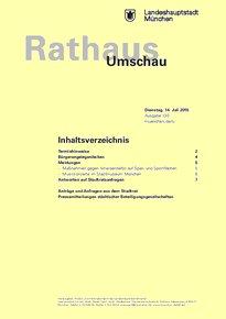 Rathaus Umschau 130 / 2015