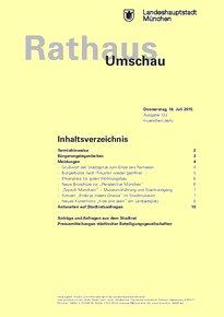 Rathaus Umschau 132 / 2015