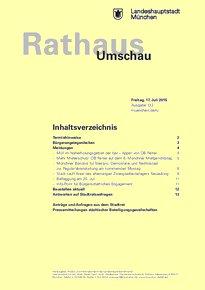 Rathaus Umschau 133 / 2015