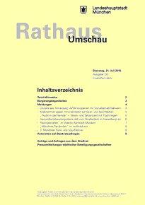 Rathaus Umschau 135 / 2015
