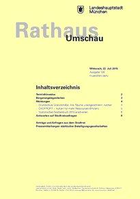 Rathaus Umschau 136 / 2015