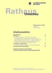 Rathaus Umschau 137 / 2015