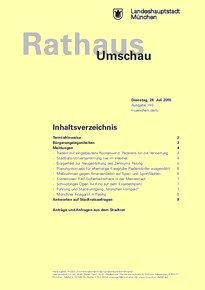 Rathaus Umschau 140 / 2015