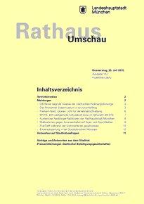 Rathaus Umschau 142 / 2015