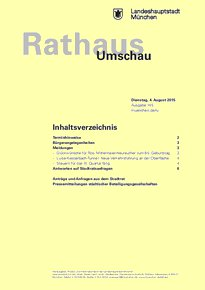 Rathaus Umschau 145 / 2015