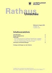 Rathaus Umschau 146 / 2015
