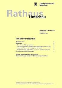 Rathaus Umschau 147 / 2015