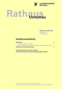Rathaus Umschau 159 / 2015