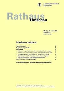 Rathaus Umschau 16 / 2015