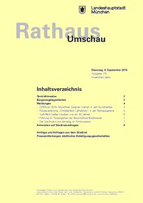 Rathaus Umschau 170 / 2015