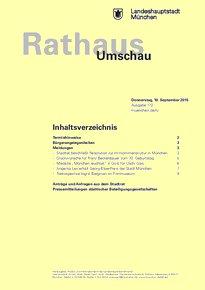 Rathaus Umschau 172 / 2015